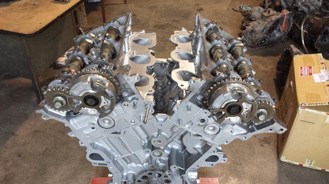 Двигатель Toyota 1GR-FE