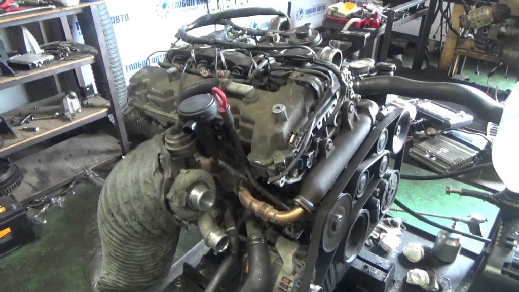 Двигатель SsangYong D20DT