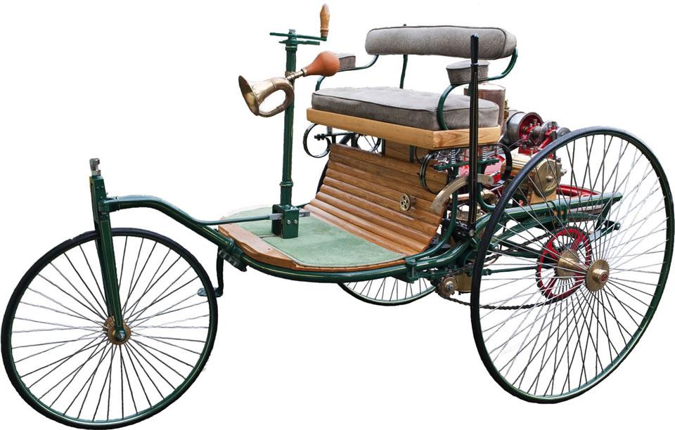 Самоходная повозка Motorwagen