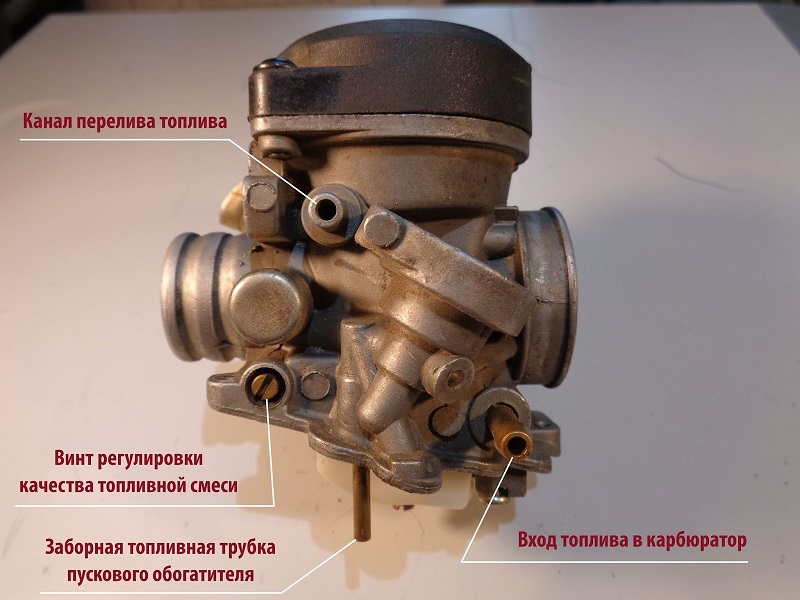 Настройка карбюратора ВАЗ 2105