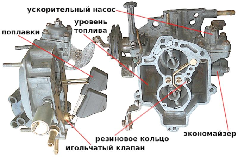 Запах бензина и карбюратор ВАЗ 2105