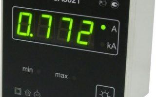 Измерение силы тока при помощи амперметра