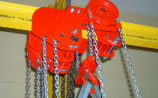 Устройство ручной тали и электрического тельфера