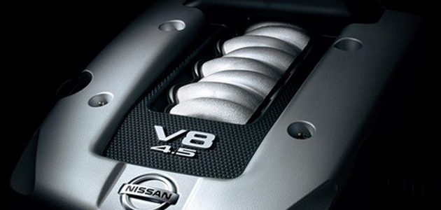 Двигатель Infiniti VK45DE (VK45DE 340 HP, VK45DE 320 HP, VK45DE 325 HP, VK45DE 333 HP, VK45DE 490 HP, VK45DE 450 HP)(4494)