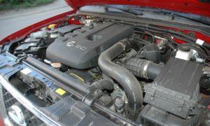 Двигатель Nissan YD25DDTI 2.5