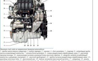 Двигатель Daewoo GM F16D3 1,6 л/109 л. с.