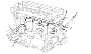 Двигатель Toyota 1NZ FE 1,5 л/108 л. с.
