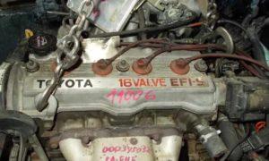Двигатель Toyota 5A FE 1,5 л/105 л. с.