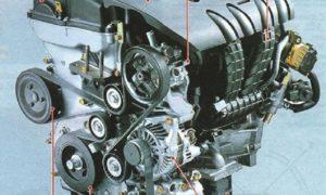 Двигатель GEMA 4B12 2,4л/168 л. с