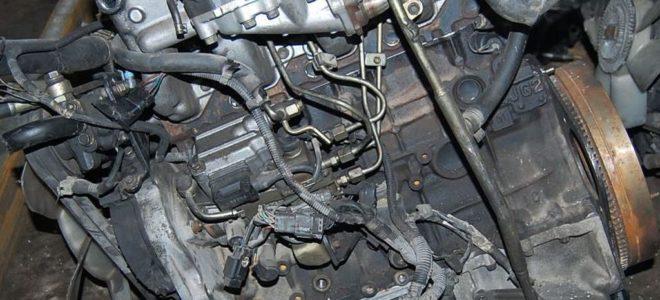 Двигатель Isuzu 4JG2 3 л/120 л. с.