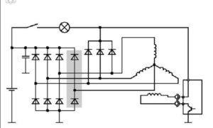 Диодный мост генератора